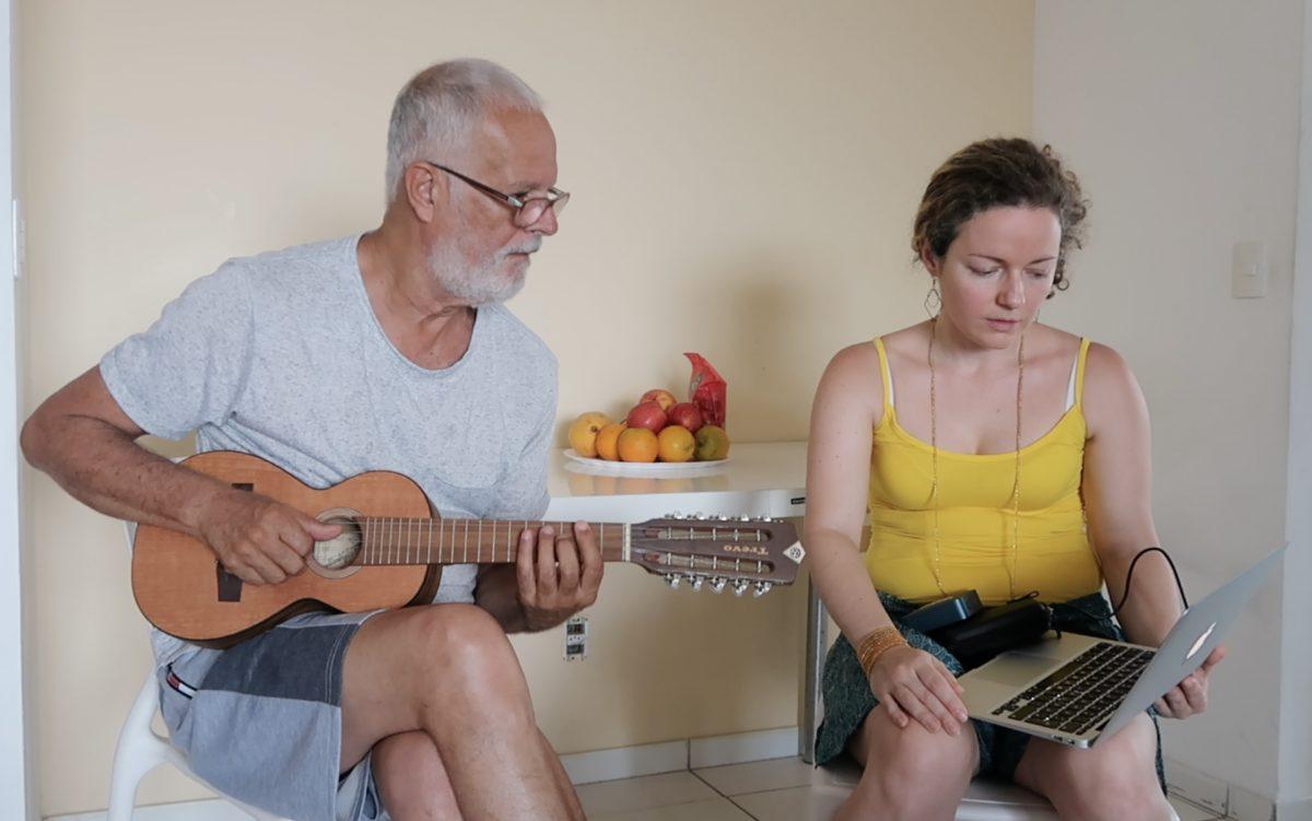 Roberto Mendes e Nina Graeff, Salvador, janeiro de 2020. ©Nina Graeff